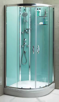 Aqualux Slot Amp Lock Self Contained Shower Enclosure