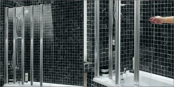 impey bathscreens folding bath screen sliding shower bath screens and shower screens roman showers