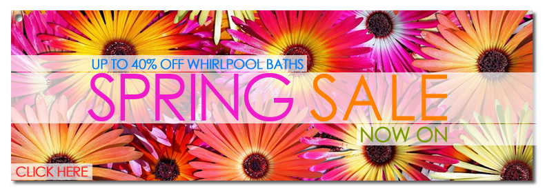 Pegasus Whirlpool Baths - Spring Sale