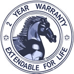 2 Year Warranty on Whirlpool System - Extendable for Life!!