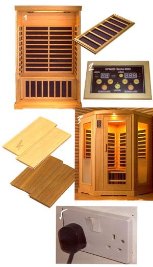 Helo Infrared Sauna Cabins  Bathroom Express UK LTD